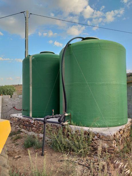 Depositos de agua de rega varios m3
