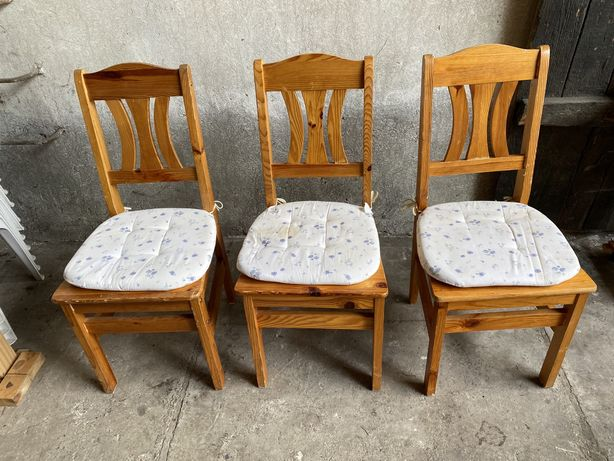 Krzesla sosnowe