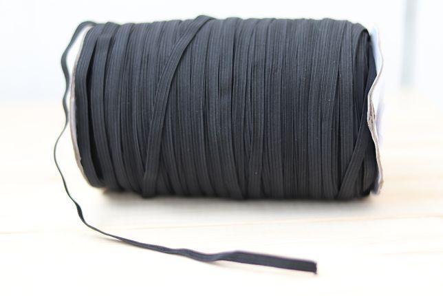 Guma, gumka czarna 6 mm