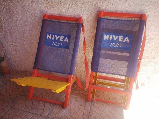 Cadeiras de praia Nivea