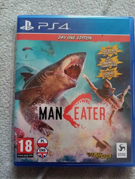 Gra Maneater playstation 4 ps4 pro