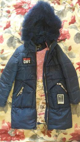 Пальто - куртка  для девочки