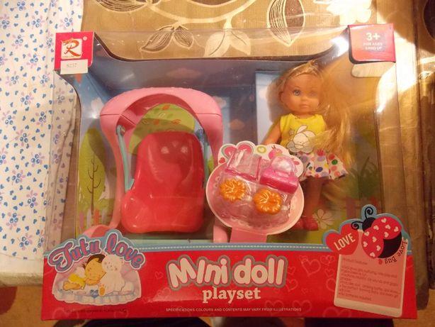 Куколка Ляля 12см.