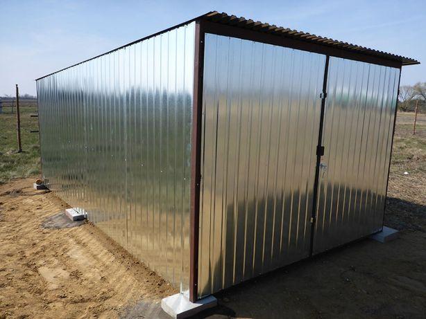 Garaż Blaszany Blaszak na budowę Garaże blaszane WZMOCNIONE producent
