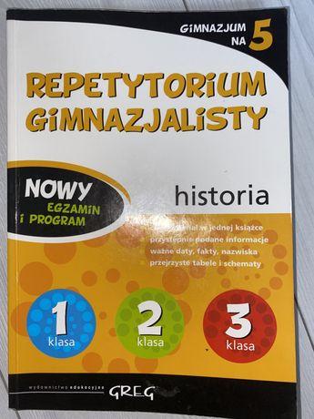 Repetytorium historia GREG