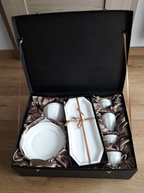 serwis zestaw kawowy herbaciany Veroni