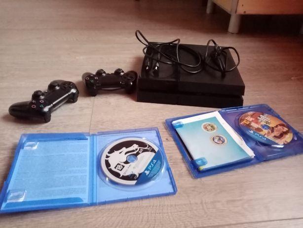 Sony playstation 4 1tb 2геймпада та 2 гри
