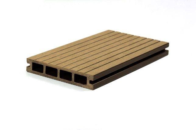 Deska tarasowa kompozytowa GRUBOŚĆ 25 mm. TORUŃ - próbki gratis