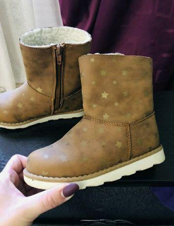 Ботинки Деми тёплые 27р