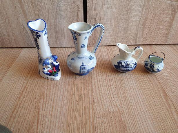 Piękna porcelana Delft