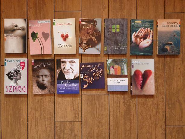 JAK NOWE! Zestaw książek Paulo Coelho - kolekcja, NA PREZENT!