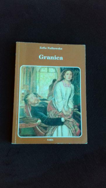 "Książka ""GRANICA"" - lektura szkolna, matura, liceum"