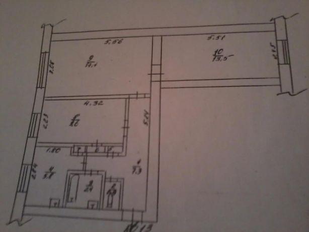 Продаю 3-х комнатную квартиру в Очакове