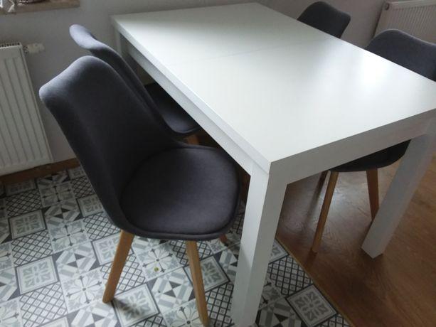 Sprzedam stół 120x80 biały rozkładany drewniany
