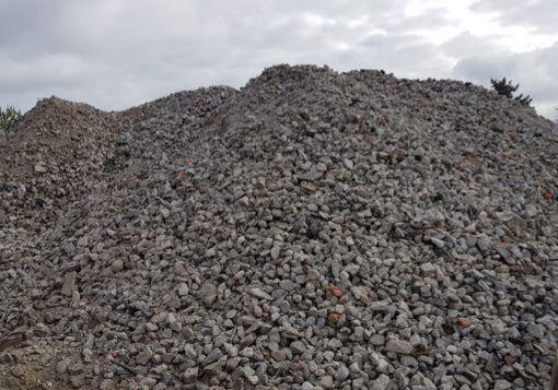 Tłuczeń Gruz betonowy recykling
