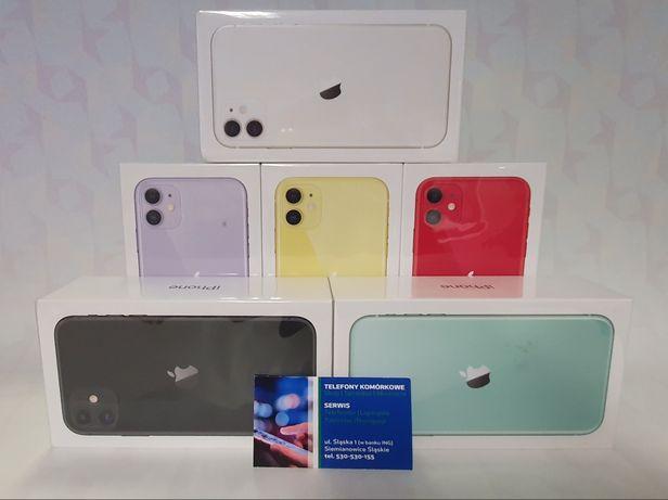 iPhone 11 128gb Zafoliowany Kolory Sklep Śląsk