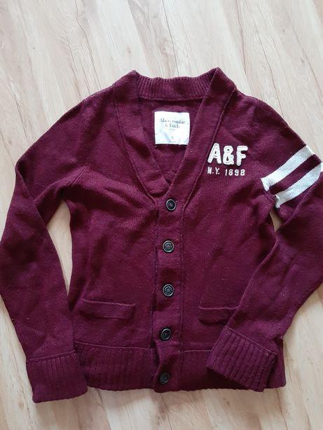 Sweterek Abercrombie&Fitch i bluza Hollister rozm.S