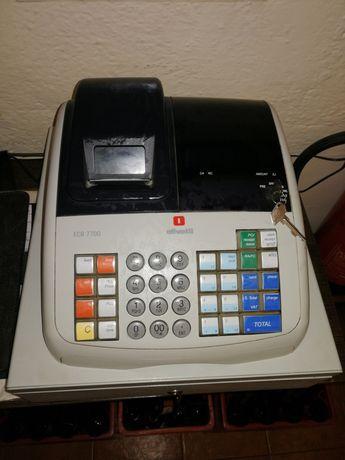 Máquina registadora própria para faturas