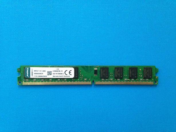 KINGSTON AMD/INTEL DDR2 800 2GB PC2 - 6400 оперативная память
