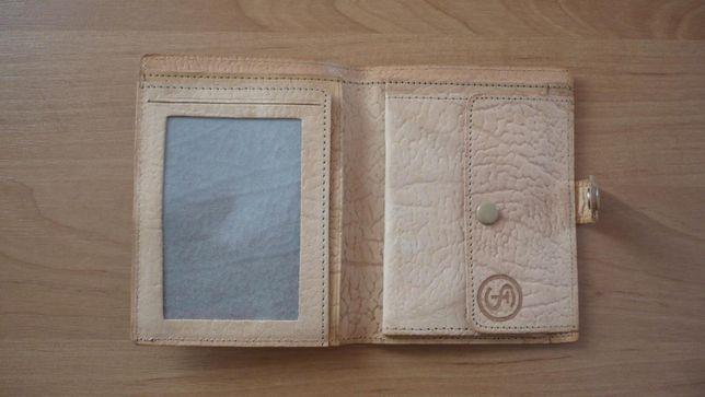 Kolekcjonerski, zapinany, skórzany portfel FSC Star Starachowice