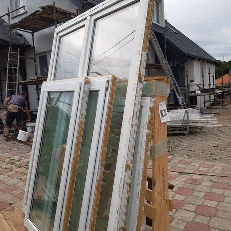 Sprzedam okna i drzwi balkonowe PCV białe