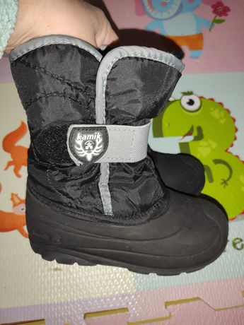Зимние термо ботинки сапоги kamik adidas Reima tundra