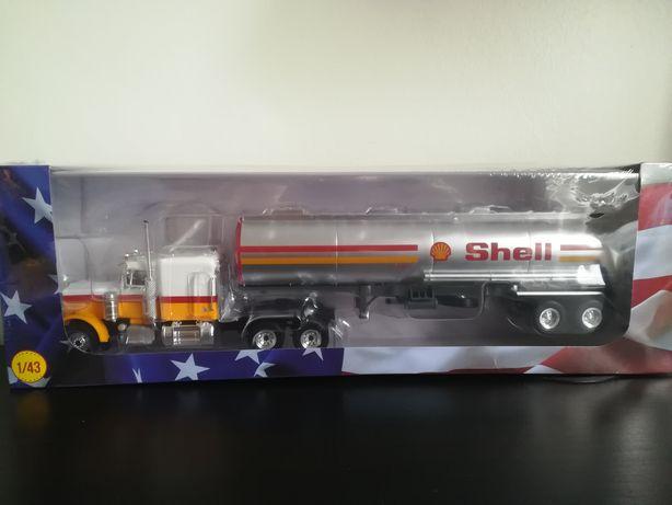1:43 Altaya Peterbilt 359 American Shell Truck - Camião Americano