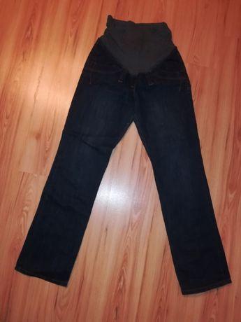 Jeansowe spodnie ciążowe rozm. L (40-42)
