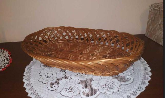 Wiklinowy koszyk do chleba (37x25cm)