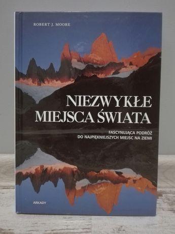 Książka o niezwykłych miejscach świata