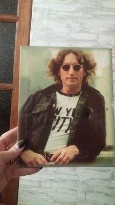 Джон Леннон на полотне