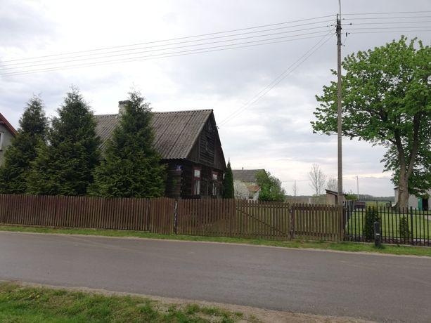 Sprzedam działkę rekreacyjna z domem 100km od Warszawy