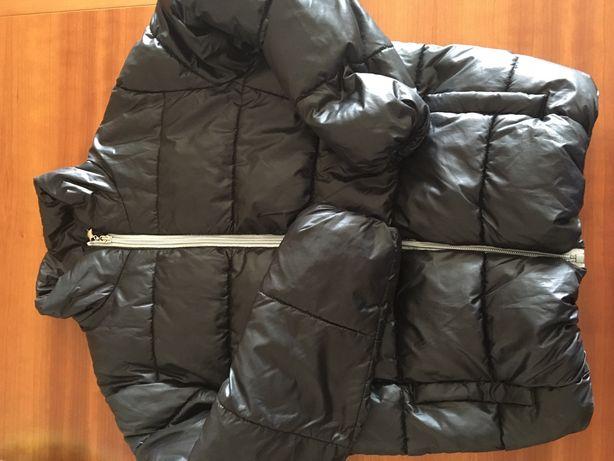 Blusão preto el corte inglês 9-10 anos