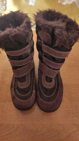 Buty zimowe kozaki śniegowce damskie młodzieżowe Magic Lady rozmiar 36