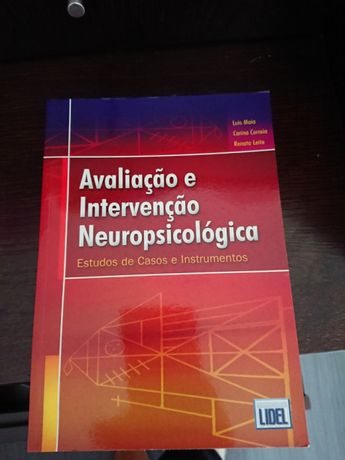 Vendo Livros de Avali. e Intervenção Neuropsicologica