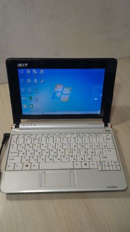 Нетбук Acer Aspire ONE, Intel Atom N270/1.5 Gb/HDD 160 Gb. РОБОЧИЙ