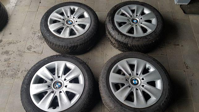 """Koła zimowe stalowe BMW 16"""" 5x120 7Jx16 ET34 6-7mm bieżnika"""