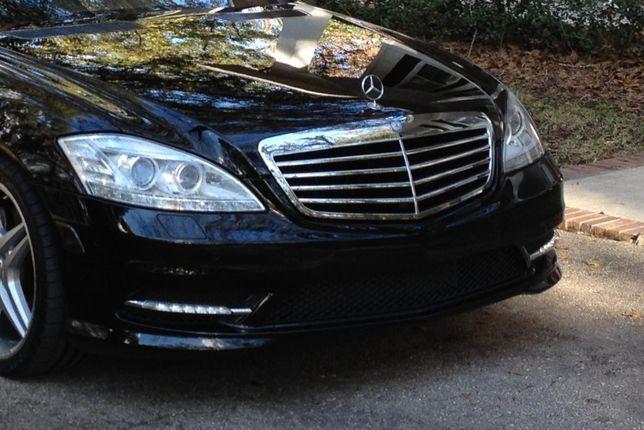 Zderzak Mercedes-Benz w221 S Klasa LIFT lifting AMG radary czujniki