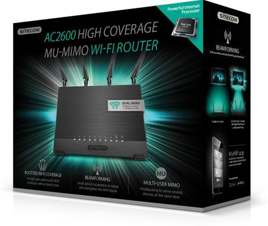 Router Sitecom WLR-9500 AC2600 Dual-Band NOWY