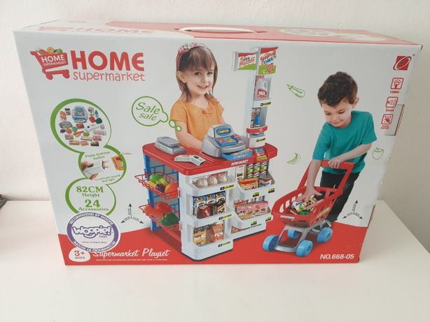 Supermarket dla dzieci zabawka Woopie. Fabrycznie nowa