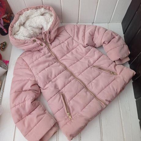Пудровая демисезонная курточка 4-5 лет H&m. Весна-осень куртка Весняна