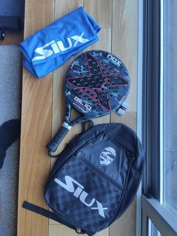 Nox ML 10 Pro Cup 10 aniversário + Saco Siux + T-shirt Siux+ Overgrip