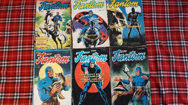 FANTOM - KOMIKS - 6 numerów - pierwsze wydanie - dla kolekcjonerów