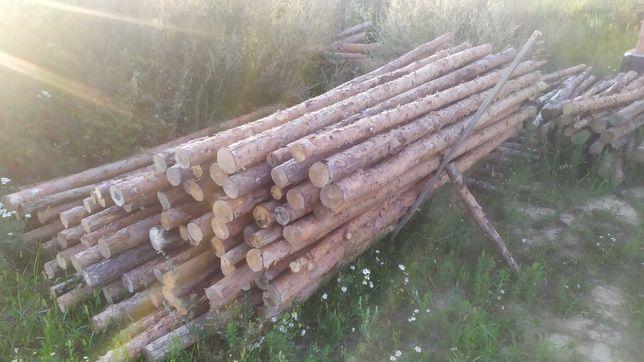 Stemple budowlane podpory drewniane, tanio
