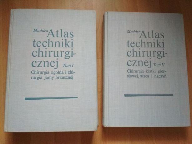 Atlas techniki chirurgicznej TOM I i II -John L.Madden