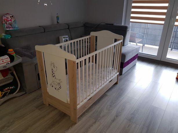 łóżeczko z szufladą