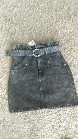 Spódnica jeansowa S