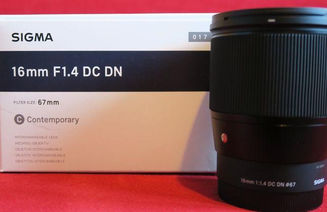 Obiektyw Sigma C 16mm 1.4 DC DN Sony E