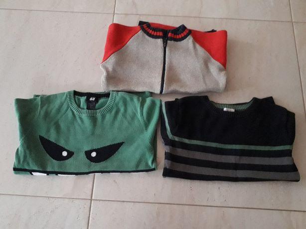 Sweter sweterek H&M i FF- zestaw do szkoły