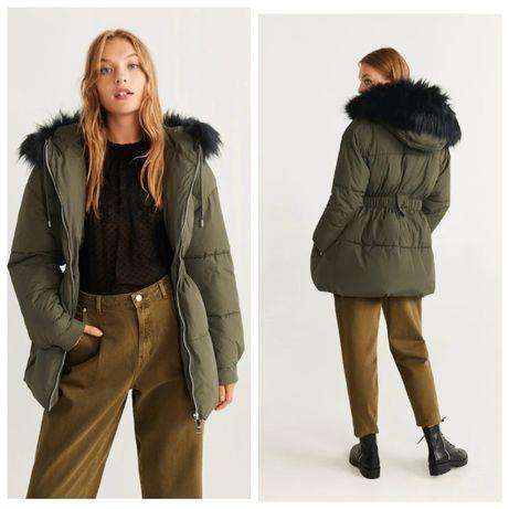 РОЗПРОДАЖ! Зимова куртка Mango. Зимняя куртка Манго. (Zara, Зара, HM)